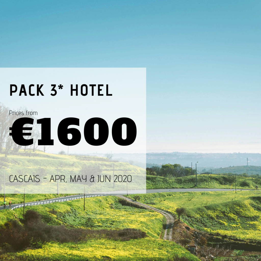 Vacation Pack 3* Hotel - April, May and June - Cascais, Portugal