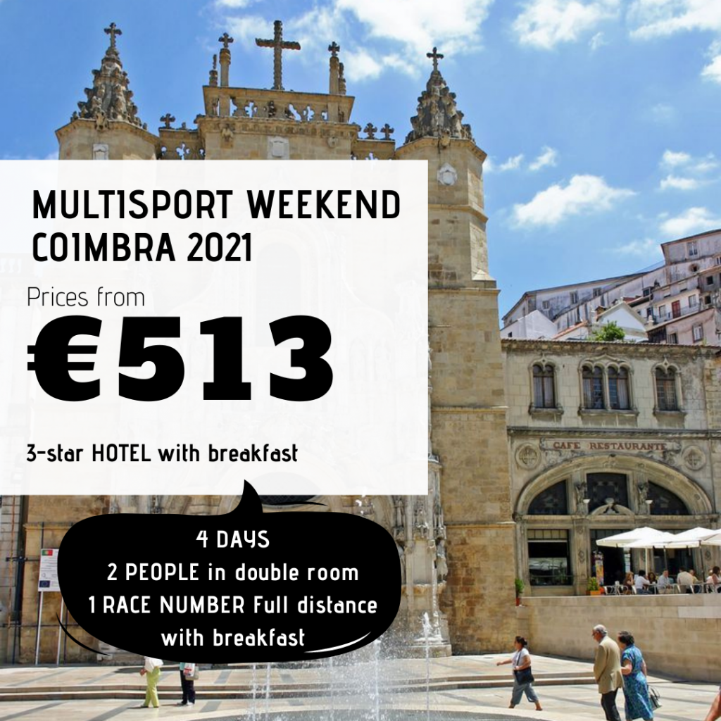 Multisport Weekend Coimbra 2021 - 4 days pack - Tri at Portugal