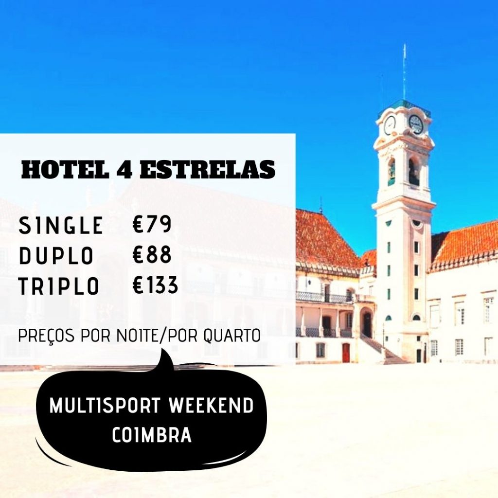 Multisport Weekend Coimbra 2021 - hotel - Tri at Portugal