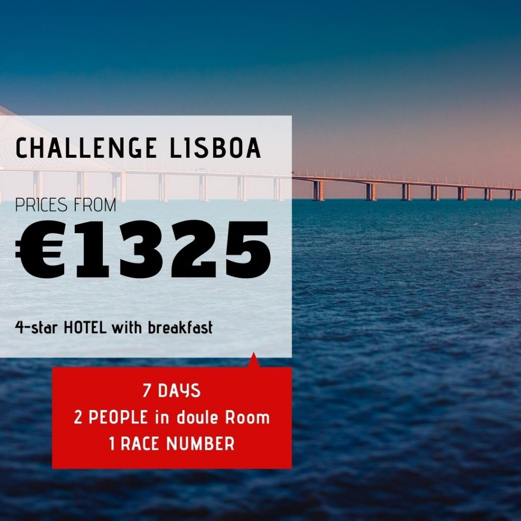 Challenge Lisboa - Hotel and number race - Tri at Portugal